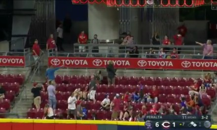 Carlos Gonzalez Hit an Absolute Bomb at Great American Ball Park