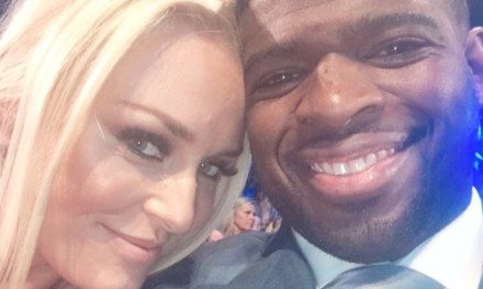 P.K. Subban and Lindsey Vonn Walked the Red Carpet at the CMT Awards