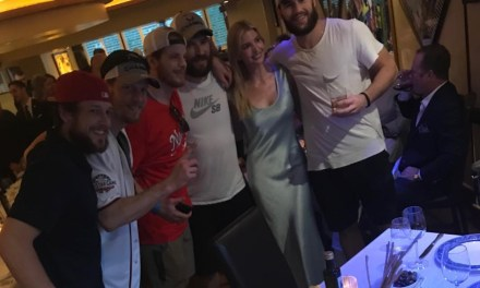 The Caps Walked into a Resturaunt in DC with the Stanley Cup and Snapped a Pic with Ivanka Trump