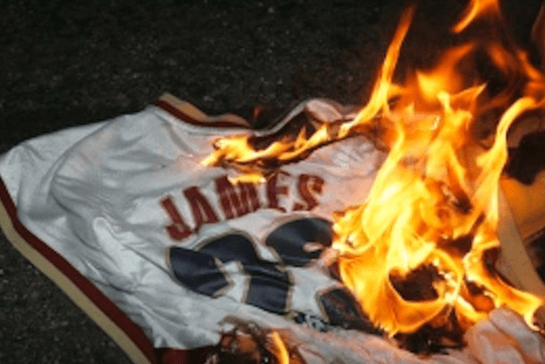 brand new c5328 99d35 Get Your LeBron Jerseys to Burn for 50% Off at Dick's ...