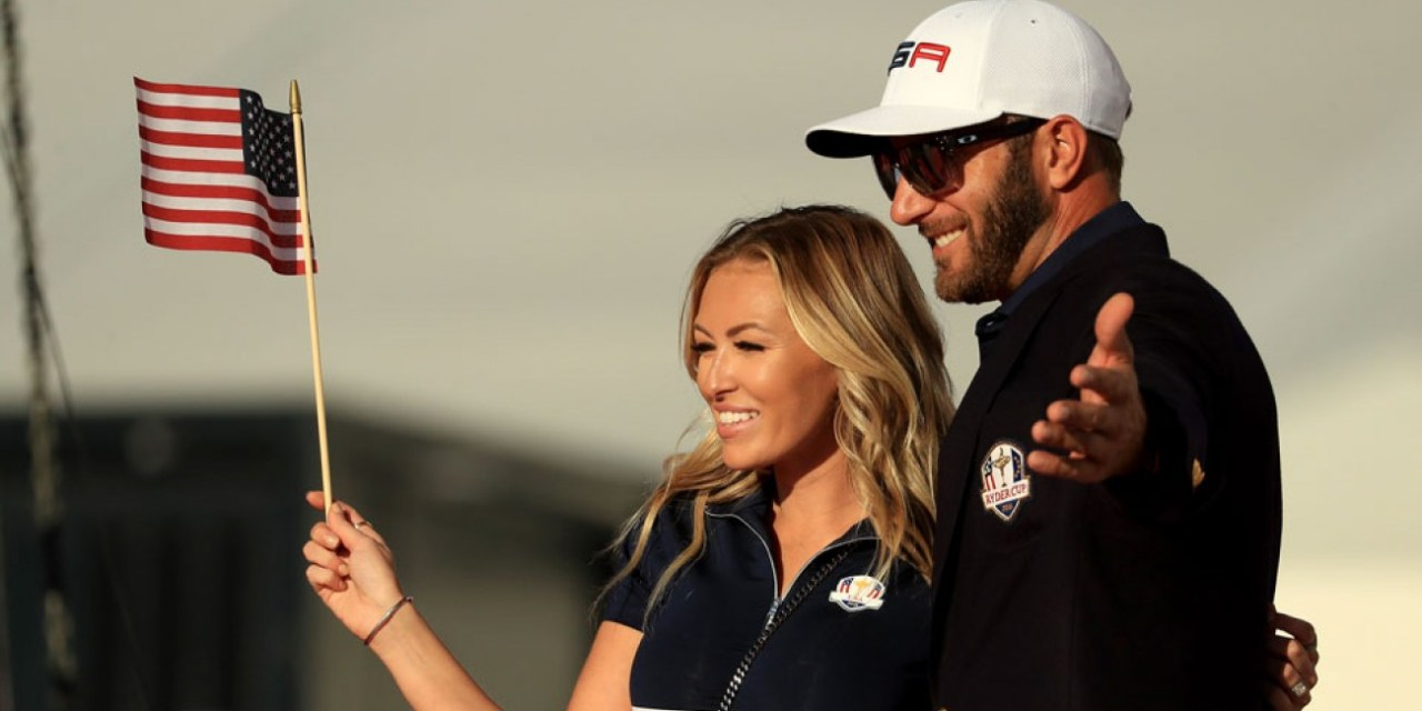 Paulina Gretzky Uses Trump's Helicopter for the US Open