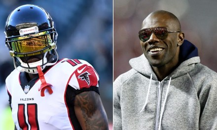Julio Jones Working Out with Terrell Owens