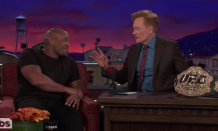 Daniel Cormier Almost Cancelled His Appearance on Conan