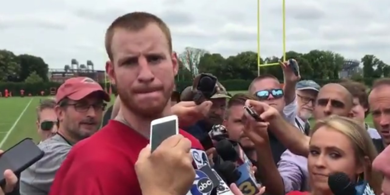Carson Wentz is Down to Recruit LeBron to Philly