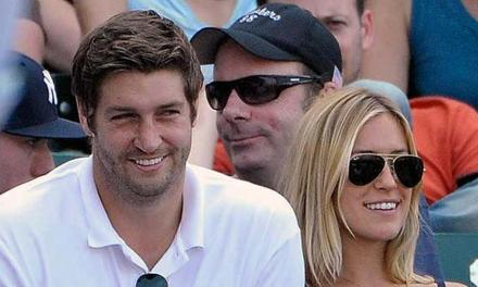 "Jay Cutler and Kristin Cavallari Preparing for ""Very Cavallari"" by Enjoying Some Pool Time"