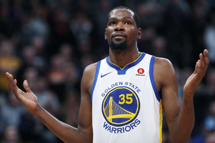 A Kevin Durant Burner Account Claims He's Leaving the Warriors