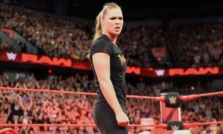 Ronda Rousey 'Suspended' By WWE for 30 Days