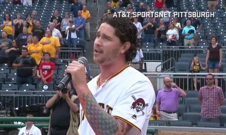 Pirates Pitcher Sang the National Anthem Before Game Against the Brewers