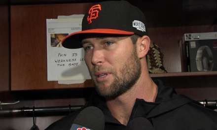 Giants Closer Out for 6-8 Weeks After Punching a Door and Breaking His Hand