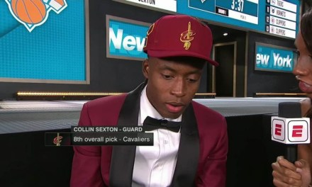 Cavs Pick Collin Sexton Has a Message for LeBron