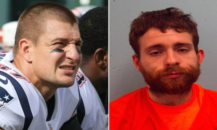 Man Accused of Robbing Rob Gronkowski's House Wore a Patriots Shirt to Arraignment Hearing