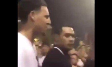 Klay Thompson and Brother Mychel Get into Fight in Pickup Game in China