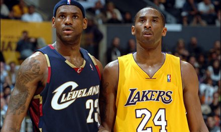 Kobe Bryant Pretends to be Happy About LeBron to the Lakers News