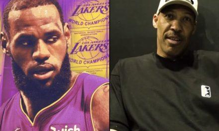 LaVar Ball Talks LeBron to the Lakers