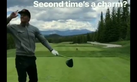 Tom Brady Throws a Fit on the Golf Course