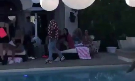 Kendall Jenner and Ben Simmons Cuddling on the 4th