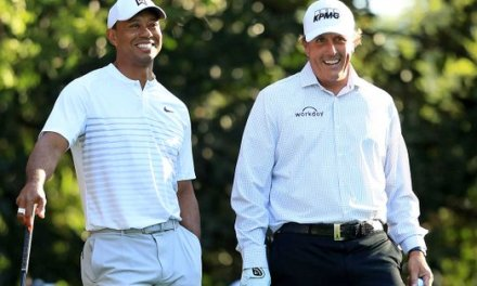 Tiger and Phil working on $10 Million Dollar Match