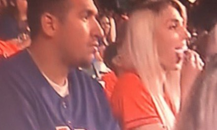 Astros Fan Caught on TV Cheating on His Wife