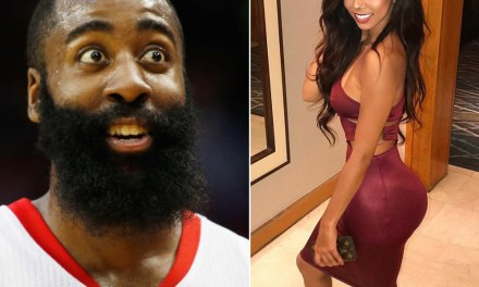 James Harden Spotted with Brittany Renner?