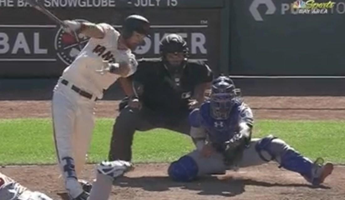 Cubs Catcher Willson Contreras Took a Foul Ball To The Groin