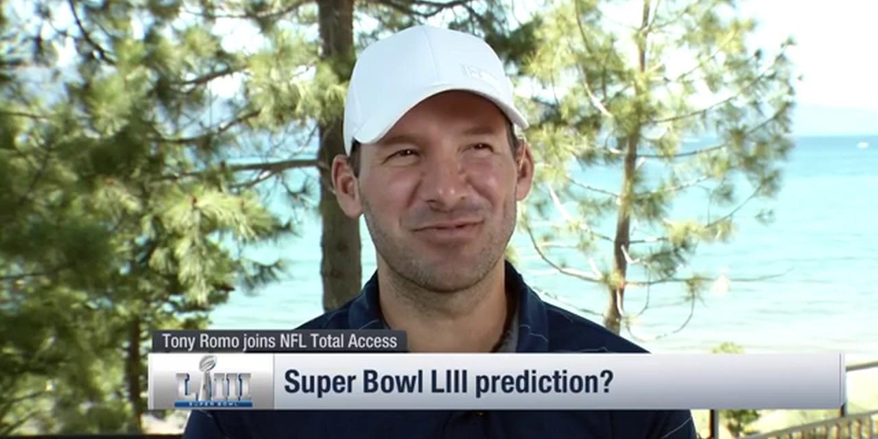 Tony Romo's Superbowl LIII Prediction