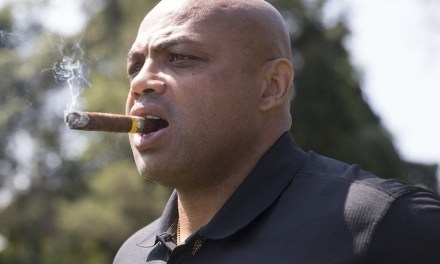 Charles Barkley's Golf Swing Has Improved