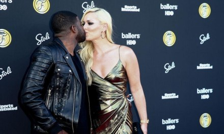 Lindsey Vonn and P K Subban Attend Sports Illustrated Fashionable 50