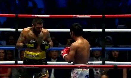 Manny Pacquiao Picked Up His 60th Win by Knocking Out Lucas Matthysse