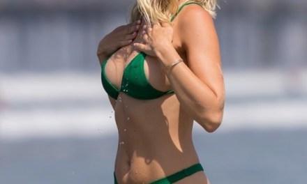 Julian Edelman's Baby Momma Ella Rose Hits the Beach