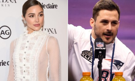Restaurant Patrons Complain about Danny Amendola and Olivia Culpo Make-out Session