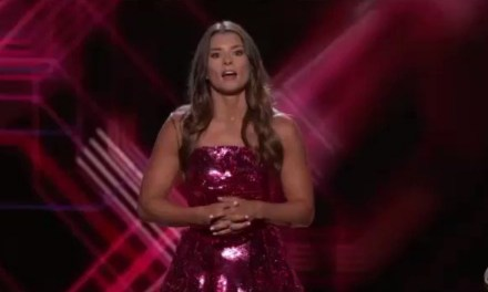 Danica Patrick Told a LeBron Hairline Joke at the ESPYs