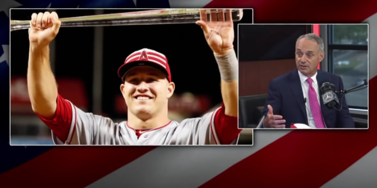 Angels Respond to Rob Manfred's Comments About Mike Trout