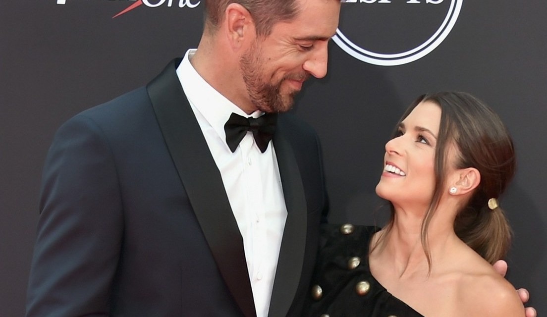 Danica Patrick and Aaron Rodgers Make Red Carpet Debut