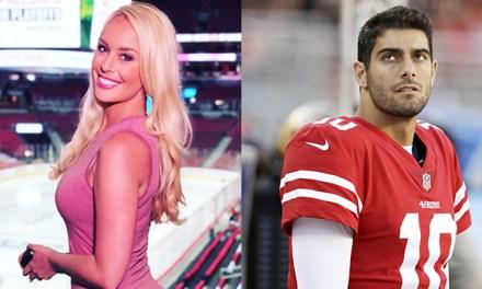 Ex-ESPN Host Britt McHenry Defends Criticizing Jimmy Garoppolo and Porn Star Kiara Mia's Date Night