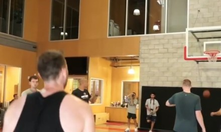 Gordon Hayward is Back in the Gym and He Looks Ready for a Playoff Run