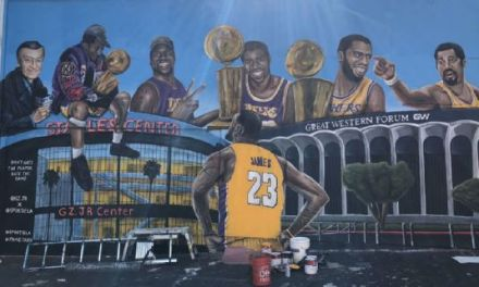 Another LeBron James Mural Vandalized in Los Angeles