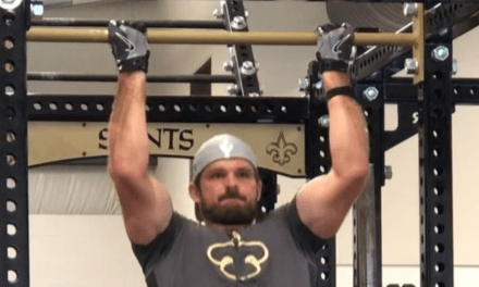 Saints Punter Thomas Morstead Does 418 pull-Ups and Raises $62K for Charity