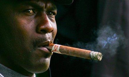 Michael Jordan Smoking Stogies in Monte Carlo