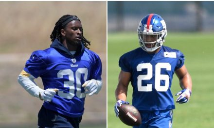 Todd Gurley told Saquon Barkley the NFL is Easier than College Football