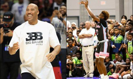 LaVar Ball Talks About Bronny Jr. Playing with Melo and Gelo on the Lakers
