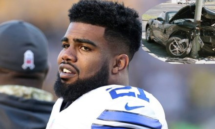Ezekiel Elliott Sued for $1 Million Stemming from 2017 Car Crash