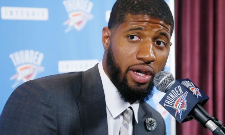 Paul George Shaved His Beard, Went With the Penny Hardaway Look