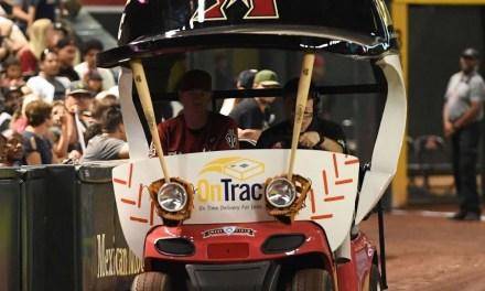Brad Ziegler is First D-Back to Use Bullpen Cart