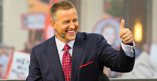 Kirk Herbstreit Points Out That Brett McMurphy Doesn't Work for ESPN to Urban Meyer Rally Attendees