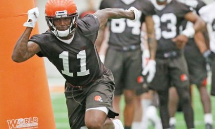 Browns Rookie Antonio Callaway Cited for Pot Possession