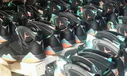 $73 Million in Fake Air Jordan Sneakers Smuggled into US