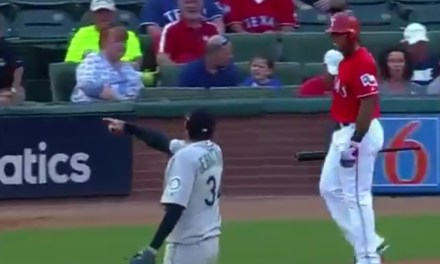 Felix Hernandez Made Adrian Beltre Look Silly on a Strikeout then Told Him to Sit Down