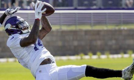 Stefon Diggs and Xavier Rhodes Benched for 'Undisciplined Stuff'