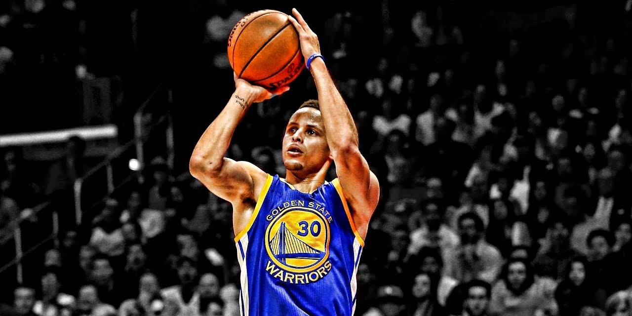Steph Curry Once Made 77 Consecutive Three-Pointers in Practice