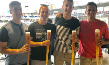 Minor League Baseball Team is Selling Beer in Plastic Mini-Bats